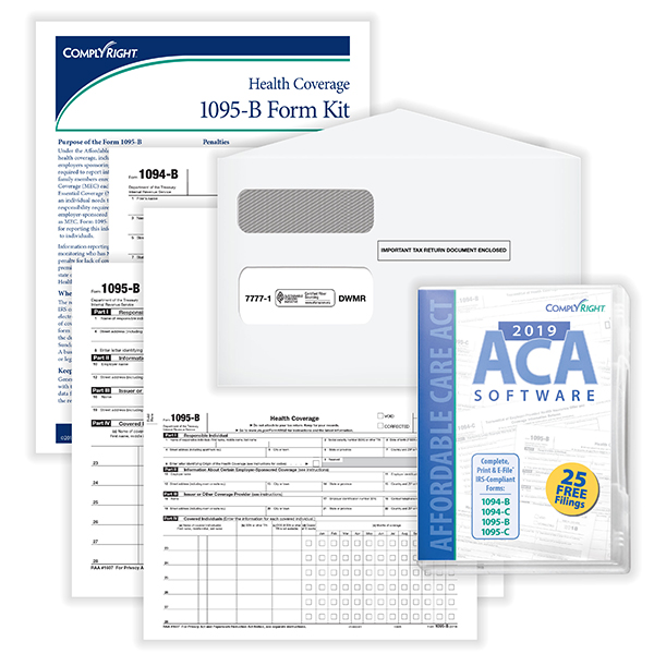 ACA 1095 Kit W Envelope