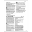 Picture of 1095-B & C Health Coverage Blank w/Backer Instructions