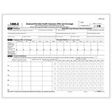 1095-C IRS Employer Provider Health Insurance