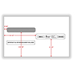 Split Double Window Envelope W-2 Tax Form