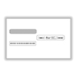 Split Double Window Envelope W-2 Forms Tax