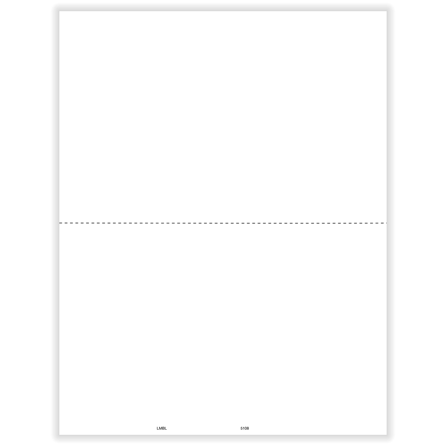 Picture of 1099-MISC 2-Up Blank w/Recipient Copy B with Backer Instructions