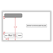 Sealed	Double Window Envelope