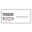 Double Window Envelope