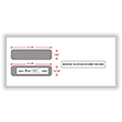 Double Window Envelope W-2