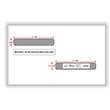 Double Window Envelope W-2 / 1099 R