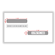 Double Window Envelopes for 1099-R