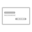 Double Window Envelopes for W2 and 1099-R