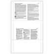1095 Health Coverage Pressure Seal Blank