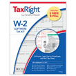 Picture of TaxRight W-2 6-Part Laser Kit with Envelopes & Software