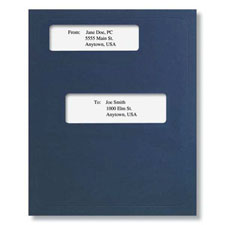 Picture of Window Folder (Offset) Dark Blue