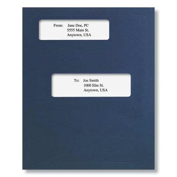 Picture of Window Folder (Offset) Dark Blue