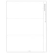 Picture of 1099-NEC 2-Up Blank w/Recipient Copy B Backer Cut Sheet w/stubs