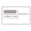Picture of W-2 Double-Window Envelopes – Self Seal