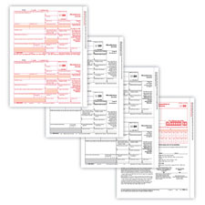 Picture of 1099-MISC 4-Part Form Set
