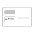 Double Window Envelope 1099M/R/B/D/5498 - Gummed