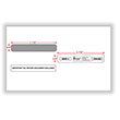 Split Double Window Envelope