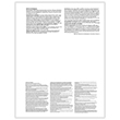 Picture of W-2 3-Up Perforated Employee Copies B, C and 2 - Horizontal