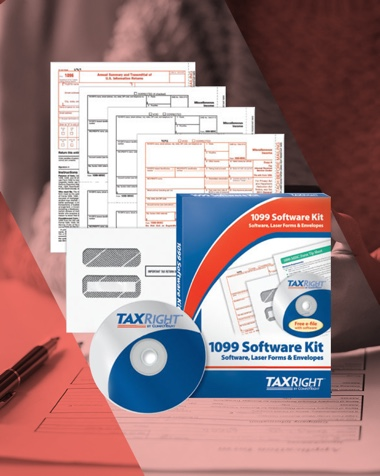 1099 paper forms